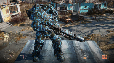 Thunderstruck - 5 new mods for the Gauss Rifle (new meshes) and Power Armour Paint (all tiers-frame-jetpack)