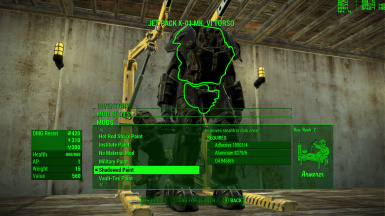 Stealthy Mods for Power Armor