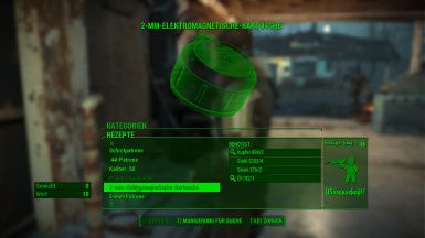 Craftable Ammo with Perk Restrictions 2