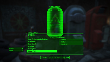 Fallout4 craftable ammo no perk restrictions 2