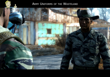 Army Uniforms of the Wasteland