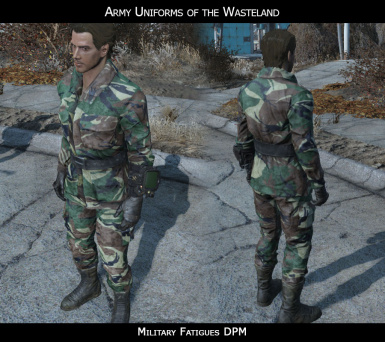 AUW   Military Fatigues DPM