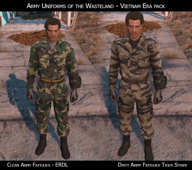 Army Uniforms of the Wasteland at Fallout 4 Nexus - Mods and community