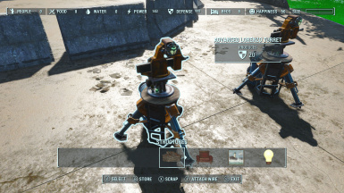 Advanced Settlement Turret Set