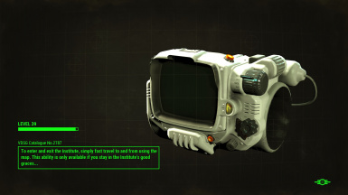 The Institute Pip-boy