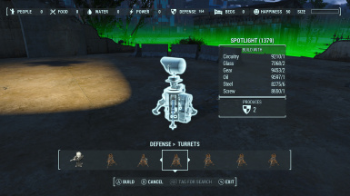 Remove Turret Power Requirement