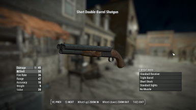 triple barrel shotgun