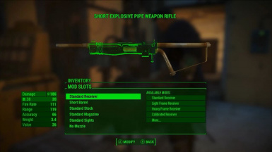 Standalone Explosive Pipe Weapon