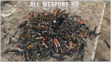 all weapons hd a w h d at fallout 4 nexus mods and community