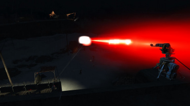Heavy assault laser