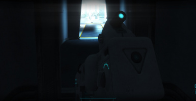 Glow on scope and dials
