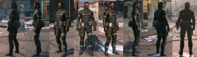 Complete GZ Sneaking Suit