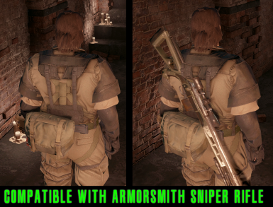 Compatible with Sniper Rifle