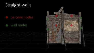 Snap nodes of staight walls