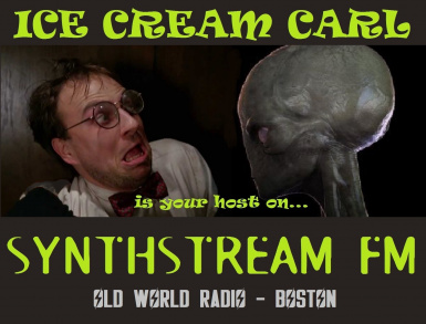 Ice Cream Carl of Synthstream FM