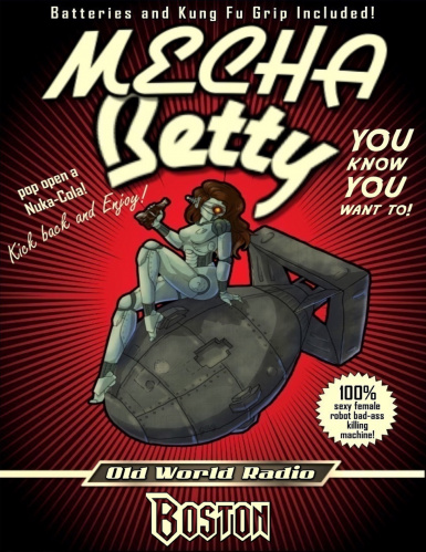 Mecha Betty Poster  longer