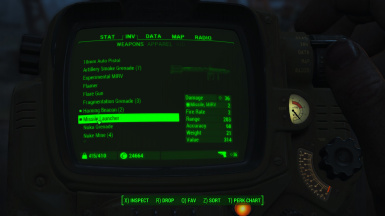 ammo codes fallout 4