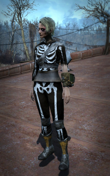 Skeleton Costume 1