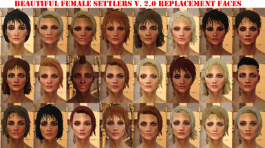 Beautiful Female Settlers