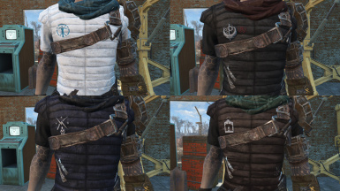 Survivors Padded Armour