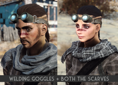 Scarves - Goggles