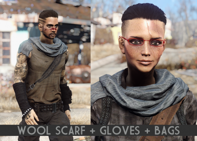 Wool Scarf - Gloves - Bags