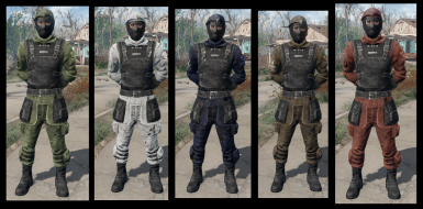 Military Outfit In-Game Pose