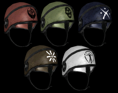 Security Helmets Render