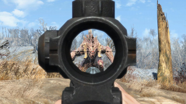 See-Through Combat Scopes - 4x Magnification