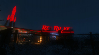 Red Rockets Glare - Station Illumination - Lighting