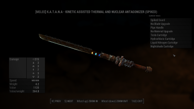 how to get kinetic weapon mod