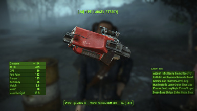 What a compact weapon this settler has