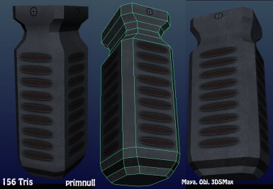 Vertical Grip (textured)