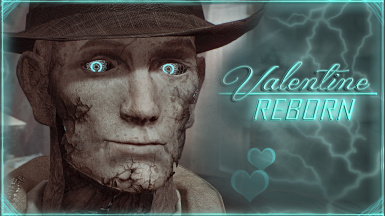 Valentine REBORN - Nick Face Retexture - HD Synth Eyes and Teeth - Gen1 Metal Skeleton