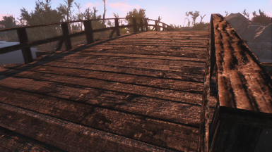 Sanctuary bridge repair and retex