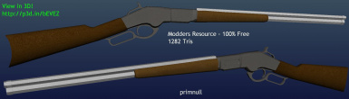 Winchester 66 Prop Rifle (Textured)