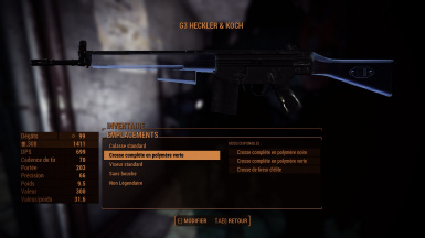 HK G3 Battle Rifle - French at Fallout 4 Nexus - Mods and