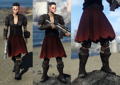Red Skirt Armoured