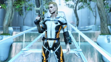 Courser X-92 Power Suit Male Addon