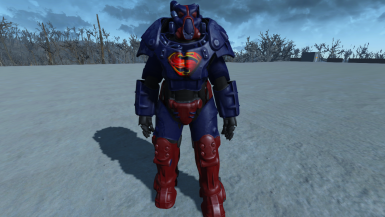 Man Of Steel X01 Paint (standalone)