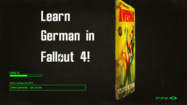 Learn German in Fallout 4