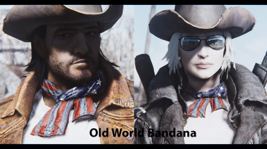 Old world bandana