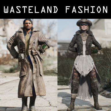 Wasteland fashion - Clothing for Vanilla and CBBE bodies