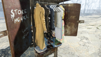Clothing Stall 008