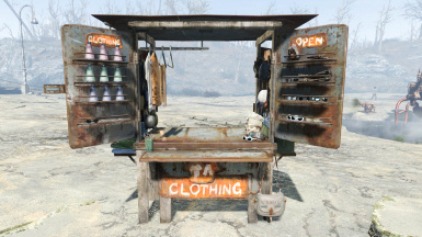 Clothing Stall 001