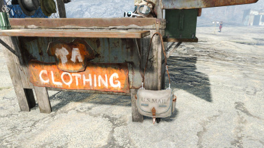 Clothing Stall 010