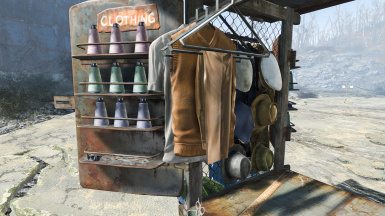 Clothing Stall 002