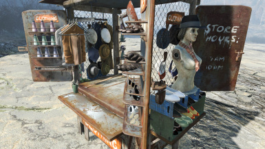 Clothing Stall 007