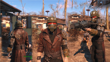 STANDALONE Wasteland Soldier Armor