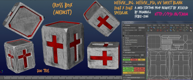 Cross Box (Medkit) (Textured) by primnull
